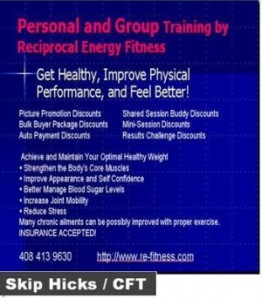 Personal Training and Specialized Group Fitness with Skip Hicks