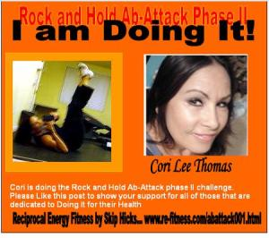 Rock and Hold Ab Program. Reciprocal Energy Fitness by Skip Hicks.