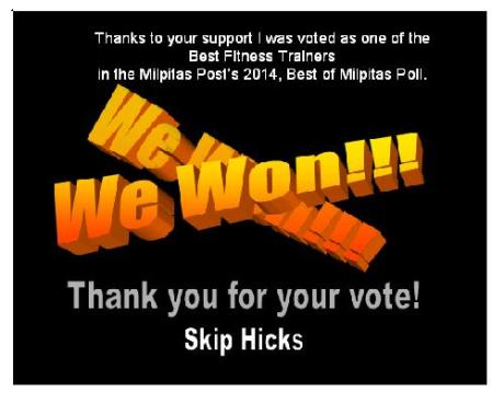 Best of Milpitas Winner Skip Hicks